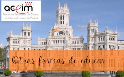 """JORNADAS ACEIM """"Otras formas de educar"""" 29 marzo 2014, Palacio de Cibeles, Madrid."""