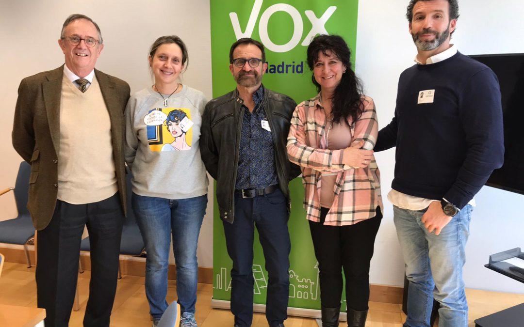 Nos reunimos con VOX