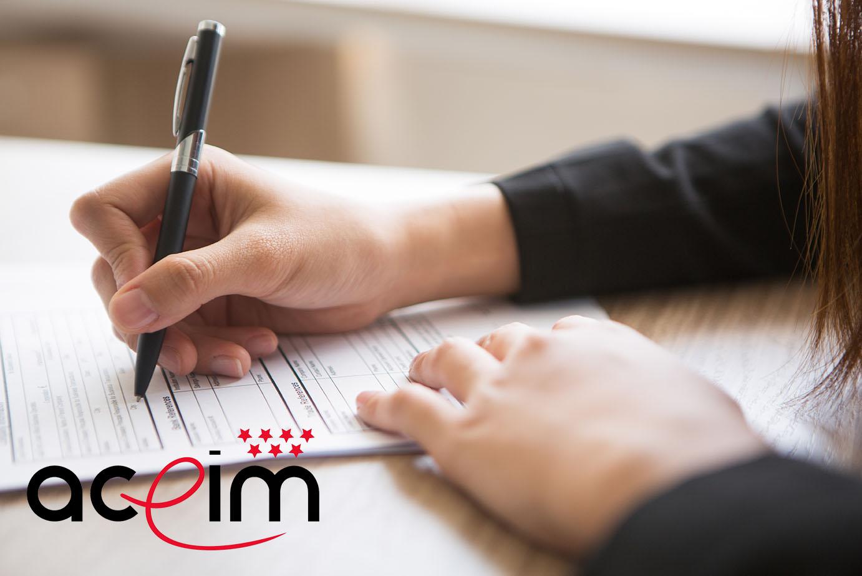 formularios parala solicitud de la beca ACEIM