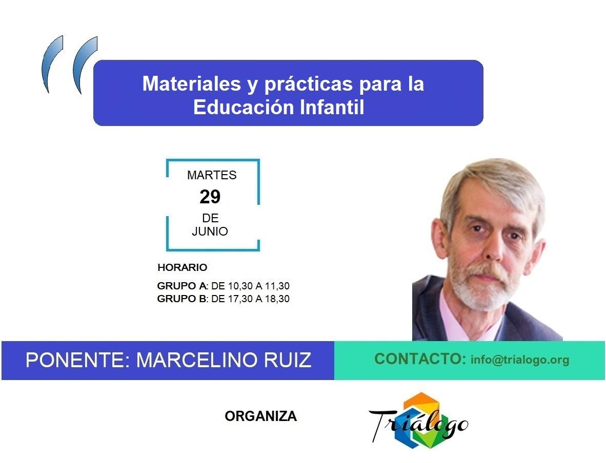 Materiales y prácticas para la Educación Infantil