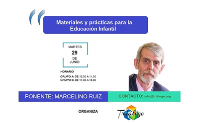 Nuevo seminario: Materiales y prácticas para la Educación Infantil